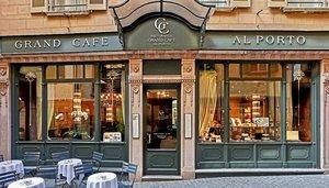 Grand Café al porto a Lugano