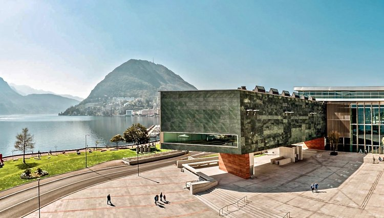 LAC, Cultural centre dedicate to visual arts, music and performing arts - Image by Lugano Turismo