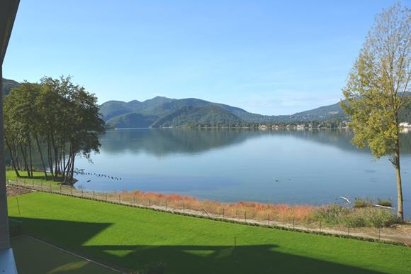 New lake front apartment near Lugano for sale