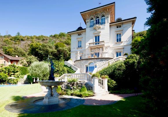 Luxury mansion in Switzerland near Lugano for sale
