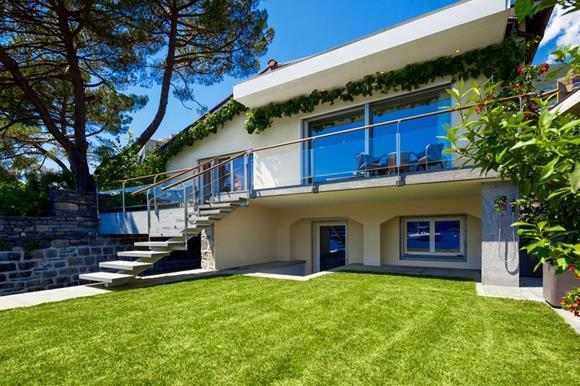 Luxury lakefront home near Locarno for sale in Ticino, Switzerland