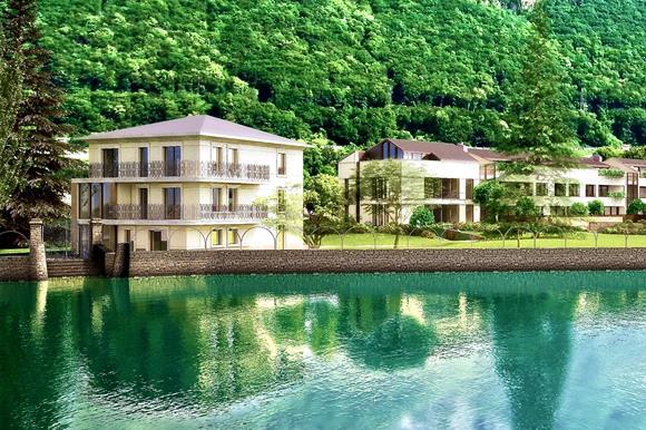 Appartamenti esclusivi di lusso sul lago di Lugano, Svizzera da vendere
