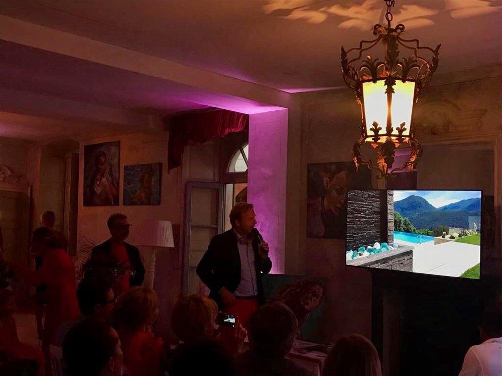 Philipp Peter, proprietario die Wetag Consulting presenta immobili di lusso in Canton Ticino