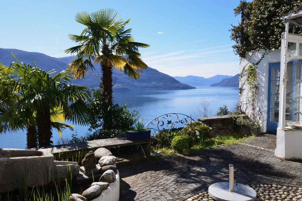 Lake view to Lake Maggiore, Switzerland - Building land for sale