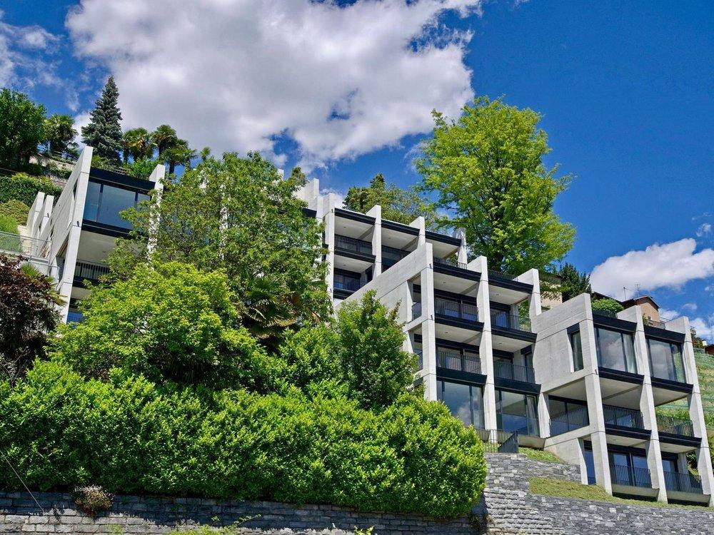 "Residence ""Riflessi del Lago"" - modern apartments in Locarno, Switzerland at Lake Maggiore for sale"
