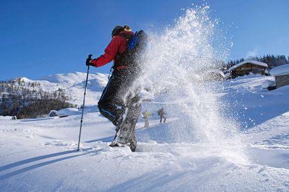 Schneeschuhlaufen -