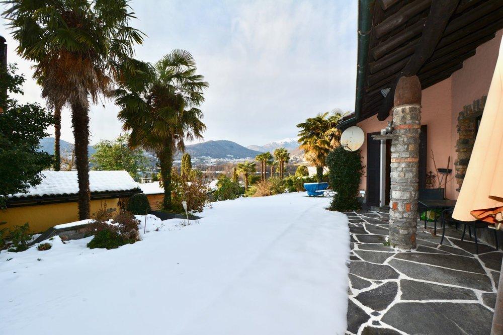 Portico mit schönen Panoramablick