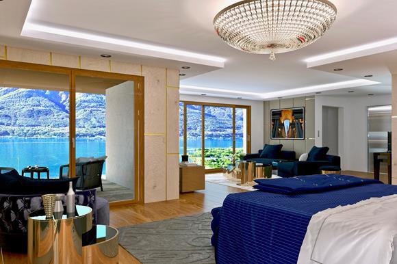 Penthouse-Wohnung mit Garten - 4,5 Zimmer, 166 m² Wohnfläche,Terrassenfläche 22 m² &66 m² GartenflächeRef. 88554-19CHF 2'900'000