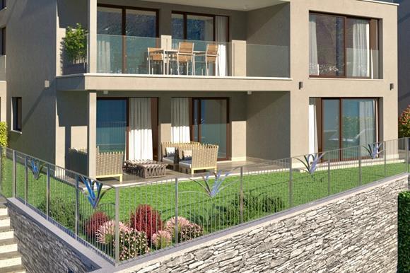 Wohnung mit Terrasse & Garten - 4,5 Zimmer, 159 m² Wohnfläche,Terrassenfläche 16 m² &43 m² GartenflächeRef. 88554-01CHF 1'640'000