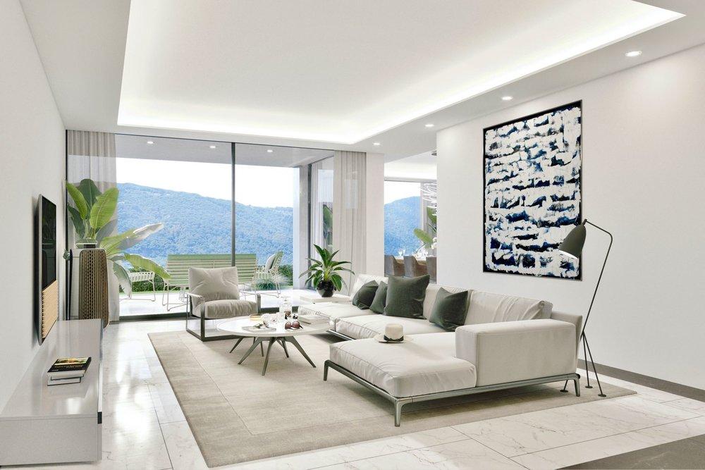 2 bedroom apartments with garden - Living area ca.: 126 m²Terrace area: 17 m²Bedrooms: 2Ref. 88558-1