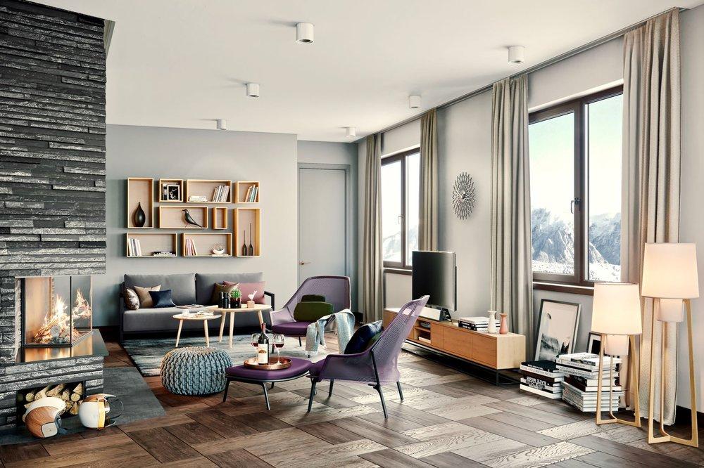 Exclusive 2-bedroom penthouse apartments - Living area ca.: 103 m²Bedrooms: 2Bathrooms: 2Ref. 88501-2