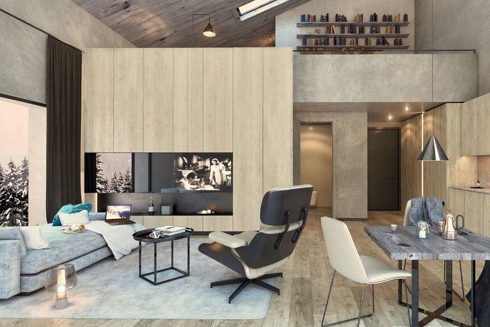 Modern, stylish 1-bedroom apartment - Living area ca.: 49 m²Bedrooms: 1Bathrooms: 1Ref. 88516-2