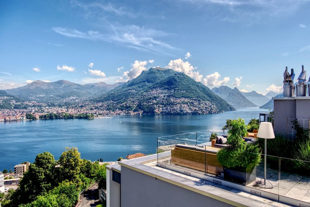 A penthouse in Ticino for sale CHF7.27m (£5.6m)