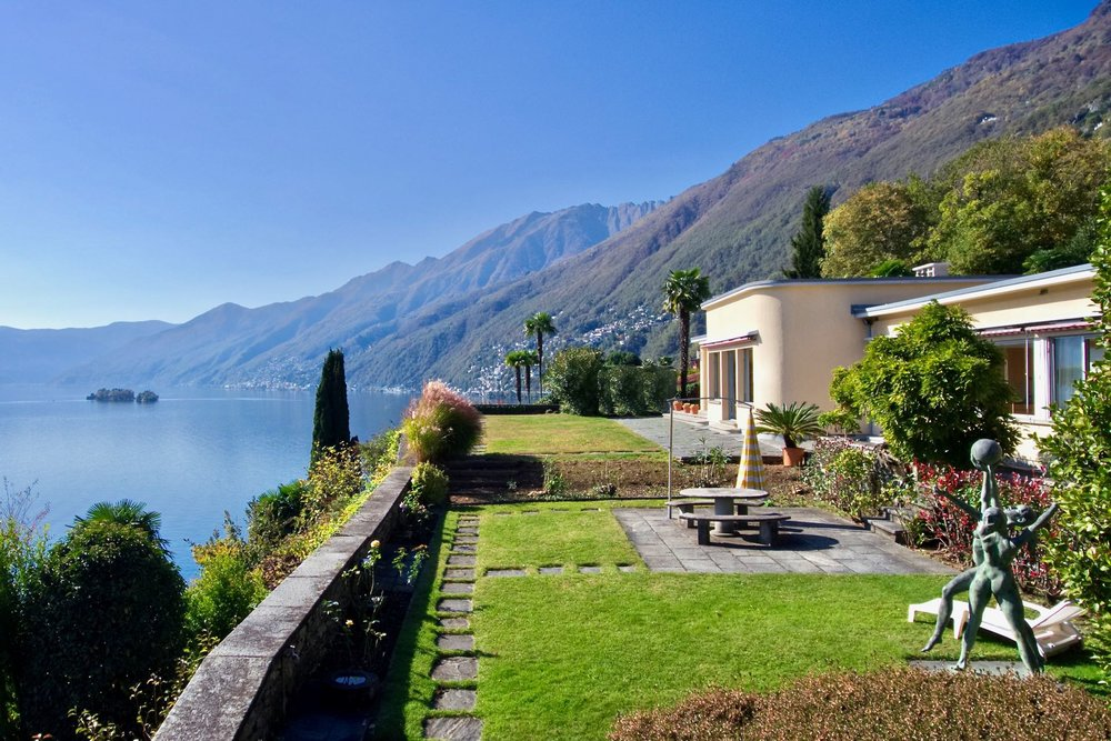 A Bauhaus villa in Ascona for sale, CHF6.23 (£4.8m)