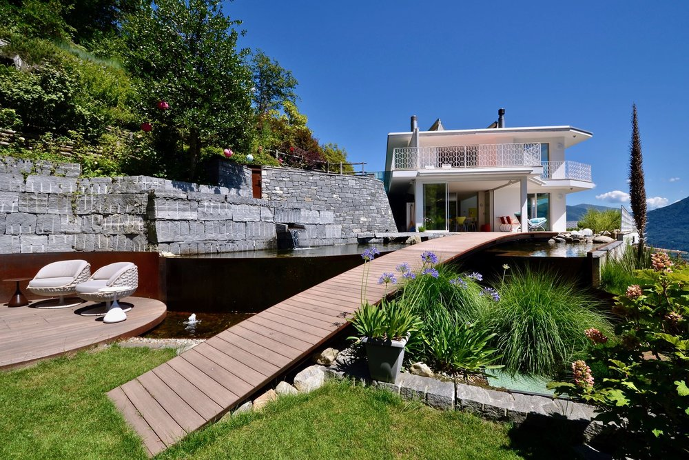 An eco-villa with a pool in Ticino for sale CHF6.35m (£4.Sm) with Christie's International Real Estate