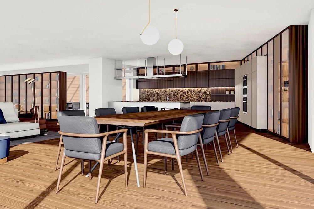 3 bedroom apartment with garden - Living area ca.: 140 m²Terrace area: 32 m²Bedrooms: 3