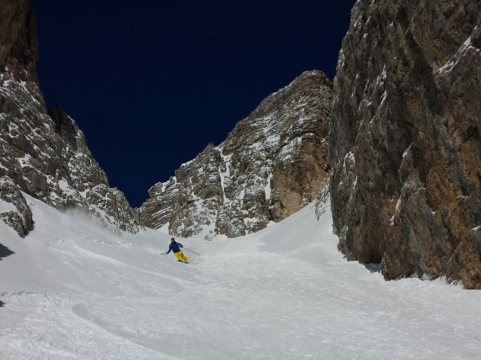 steep skiing