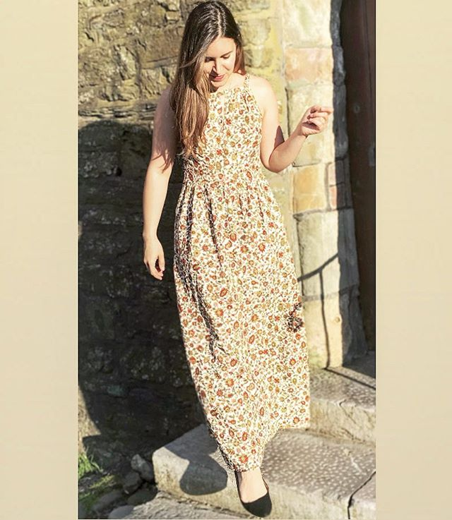 Wearing my favorite Kinu dress out in Kinsale!