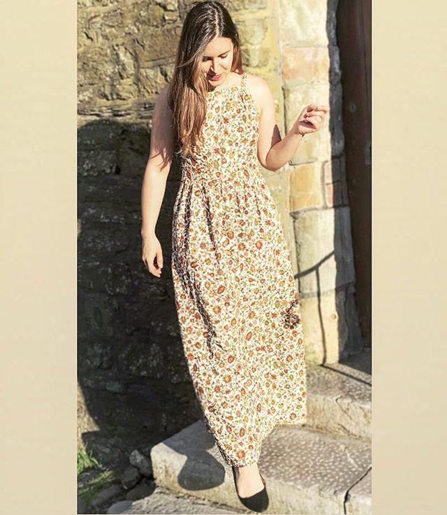 Wearing my favorite Kinu dress out in Kinsale!