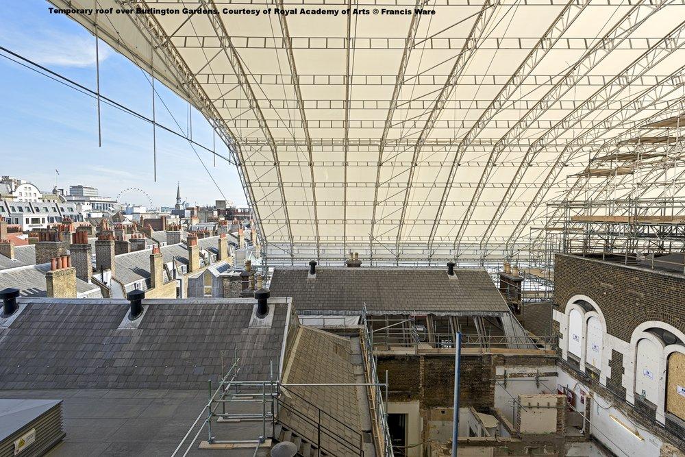 Temporary roof over Burlington Gardens c  Francis Ware.jpg