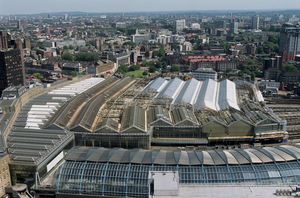 Renovation of Waterloo Station roof
