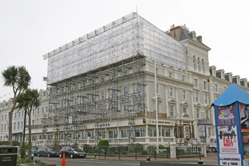 Temporary works scaffolding design