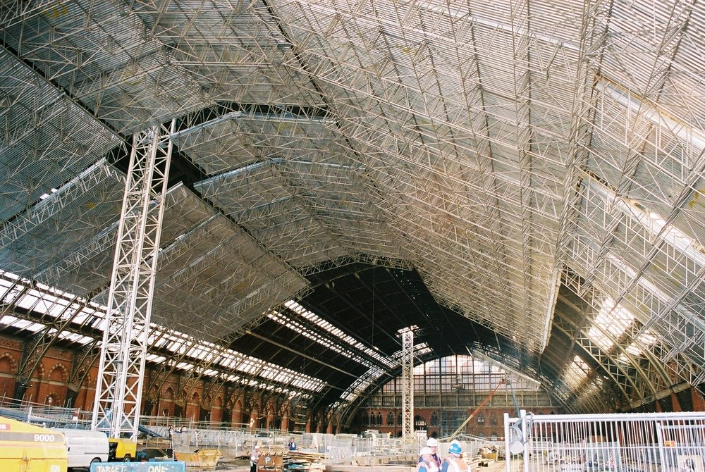 Complete scaffolding design at St. Pancras Station for Network Rail