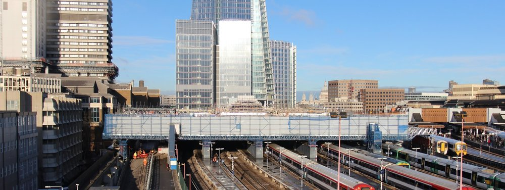 Scaffolding design for Network Rail at London Bridge Station
