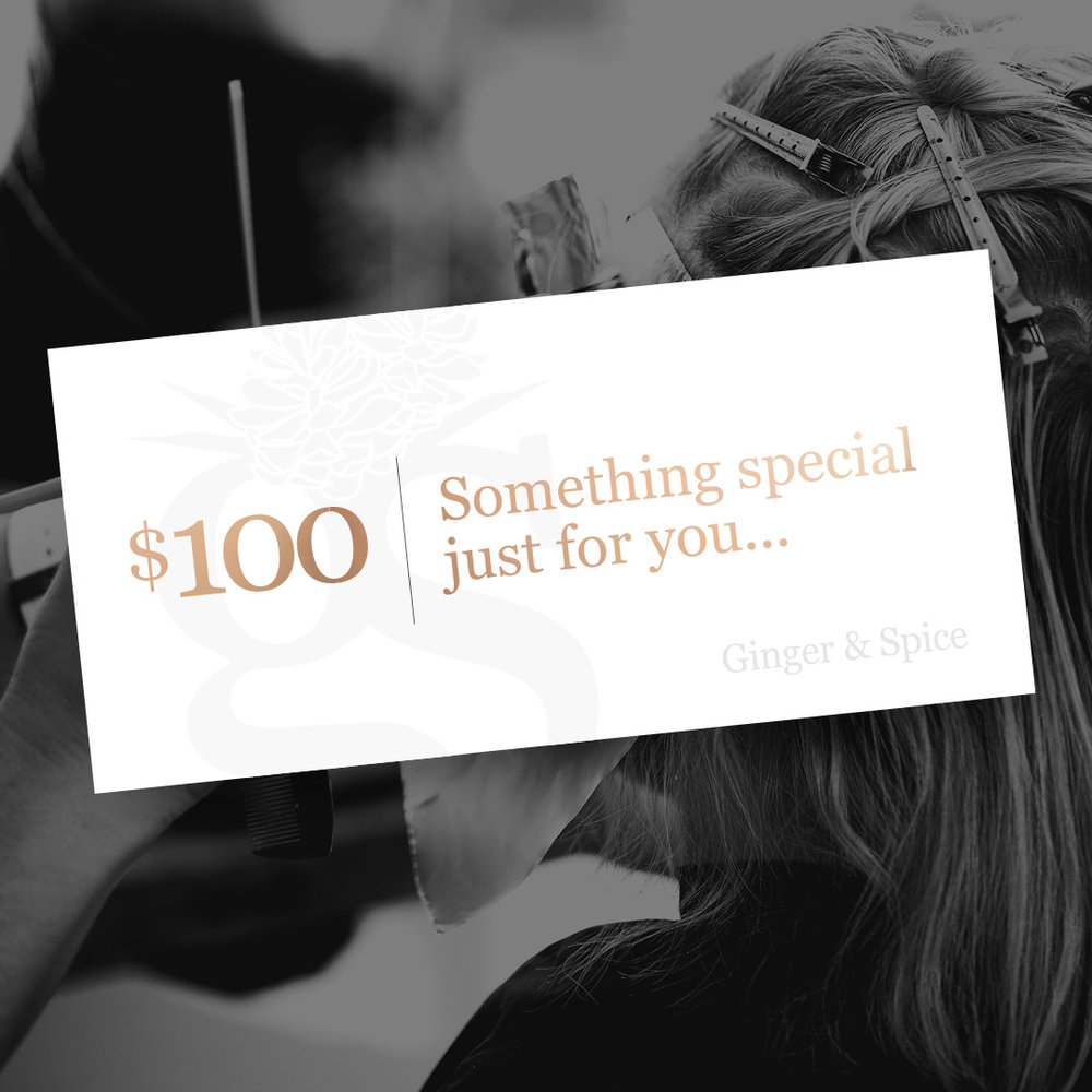 $100 Gift Voucher - Gift Voucher will be sent digitally via email.