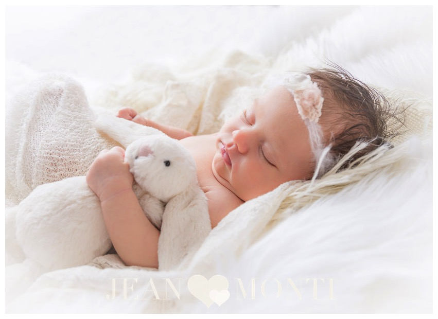 Newborn Photographer, Jean Monti, photographs newborn at the Jean Monti Photography studio located in Cumberland, RI
