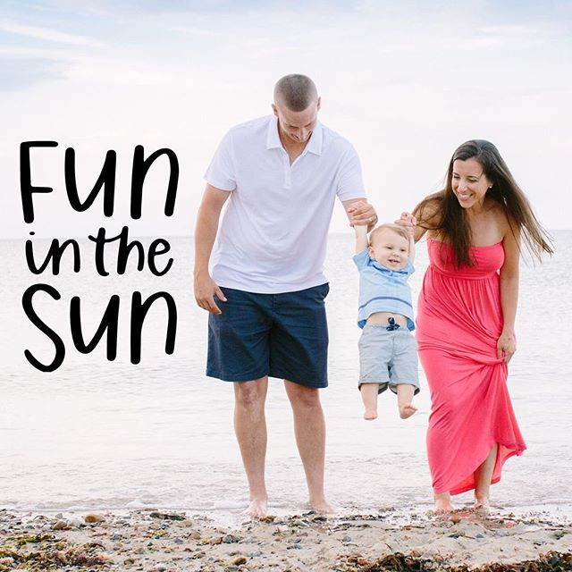 Family Fun in the ☀️ . . . #sweetsummertime #beach #baby #family #funinthesun #beachday #healthybabieshappymoms #vacation #babiesofinstagram #picoftheday #fun