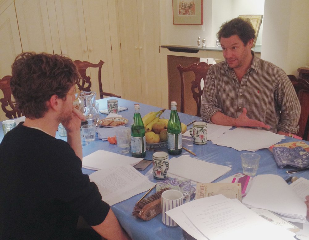 Kyle Soller and Dominic West.
