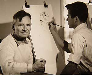 Christopher Isherwood and Don Bachardy.