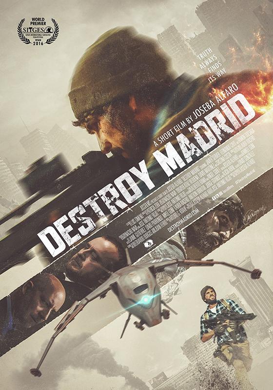 DESTROY MADRID. Joseba Alfaro