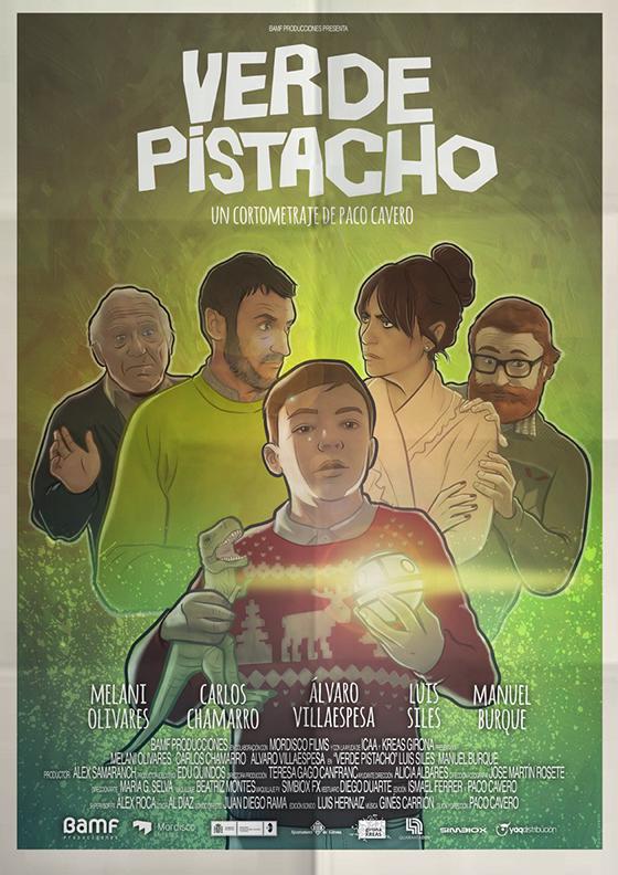 VERDE PISTACHO. Paco Cavero