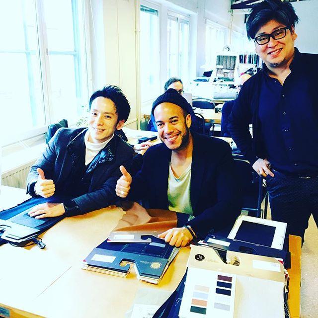 Gant meets Takisada!! #albertfränkel #gant #takisada #swedenmeetsjapan #japanesefabrics #welike