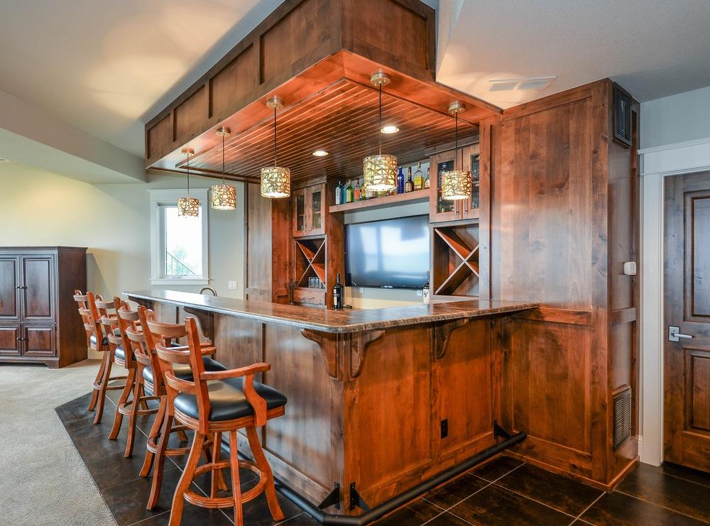 Wet Bar — Tharp Cabinet Company