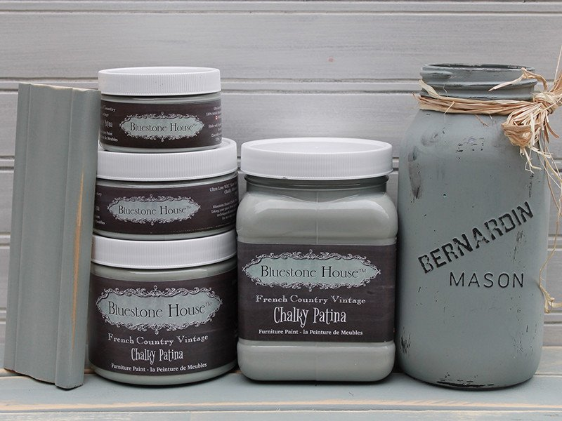 Bluestone Chalky Patina Paint