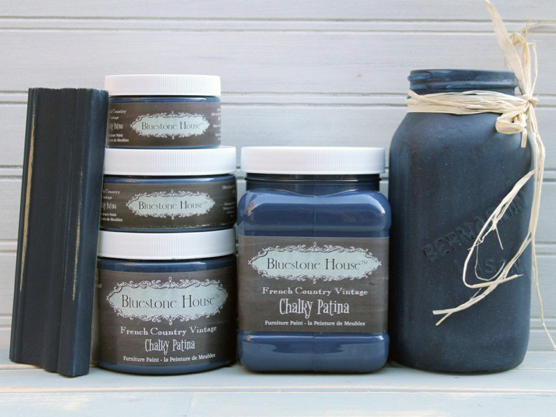Nantucket Navy Chalky Patina