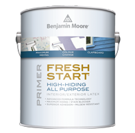 FRESH START® PREMIUM INTERIOR PRIMERS - Our Fresh Start premium primers come in both latex and oil based formulations to ensure the best possible results by providing the proper foundation for every finish coat. They combine the excellent adhesion and sealing desired in an interior primer with the added benefits of being low odour and quick drying. Choose from specialty products that solve problems with stains, moisture damage, and other common issues.