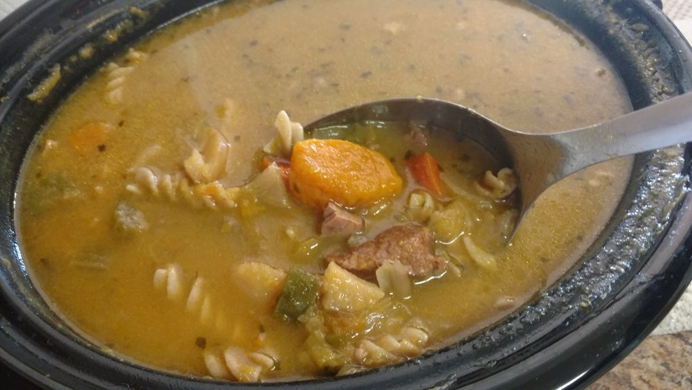 2017's experimental Soup Joumou at the house of Solages