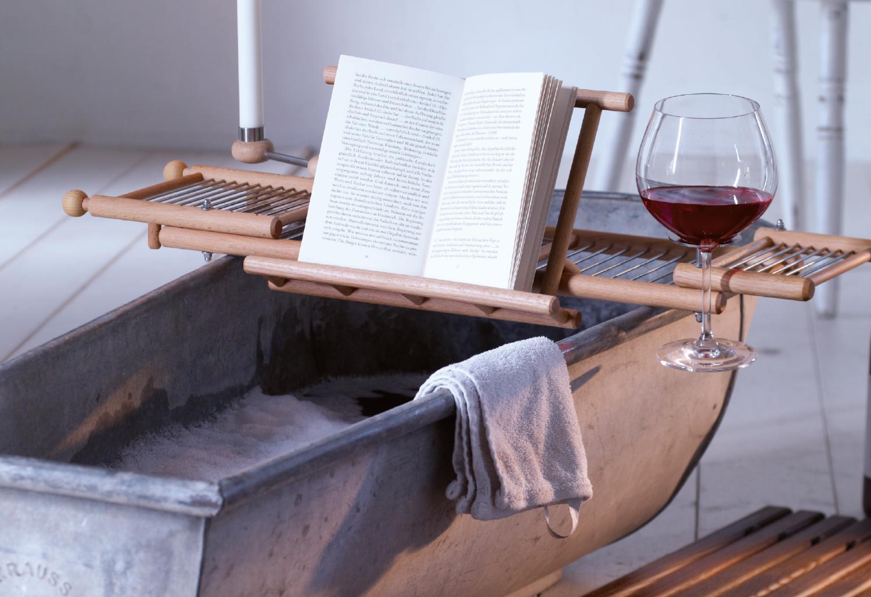 Bathtub Shelf Beech-wood — Bleschu
