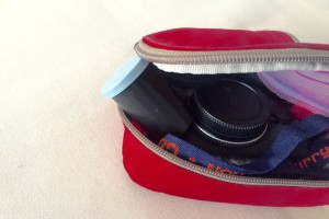 Storing my SD cards in canister in small bag