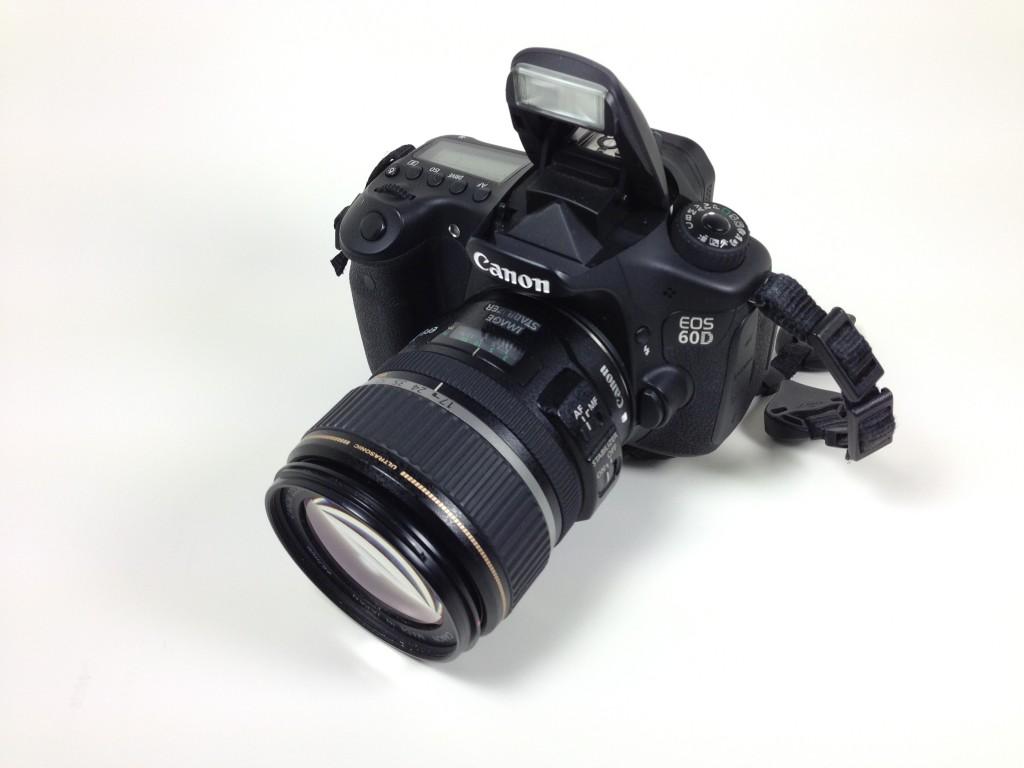 Pop-up Flash, Canon 60D