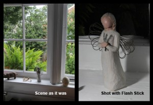 Flash Stick Example - Angel