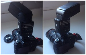 External Flash Set for Bounce
