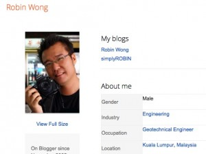 About Robin Wong