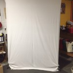 White Micro Fiber Background