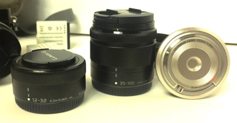 Panasonic lenses.