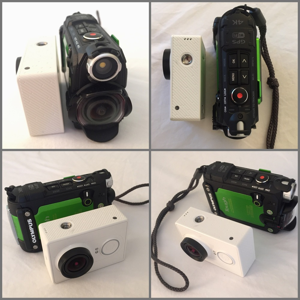 Comparing the Olympus Tough TG-Tracker with the Yi Action Camera.